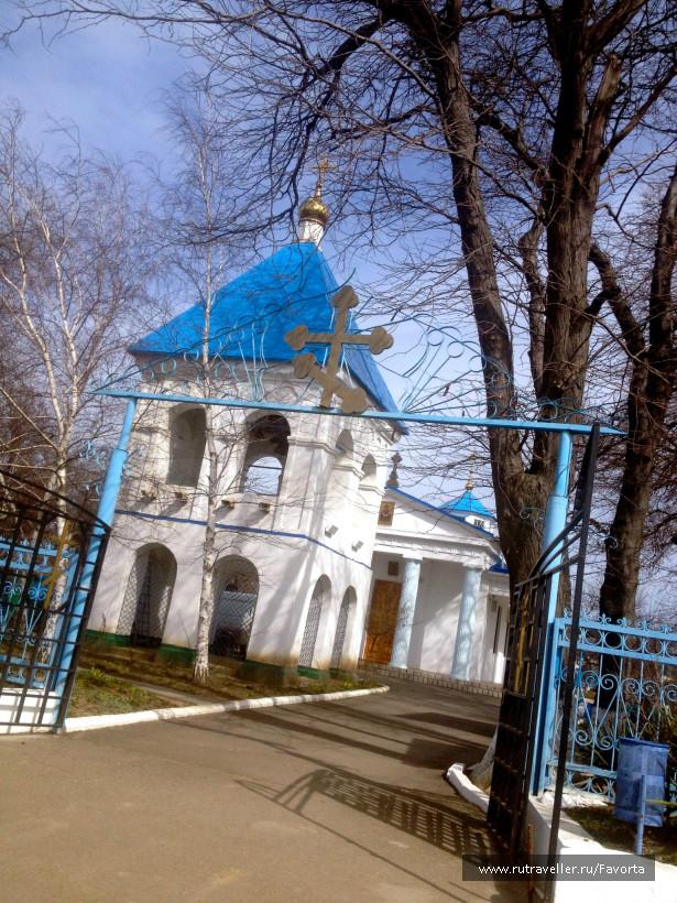 Тамань. Церковь Покрова Пресвятой Богородицы