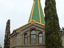 Церковь Александра Невского на мысе Плака