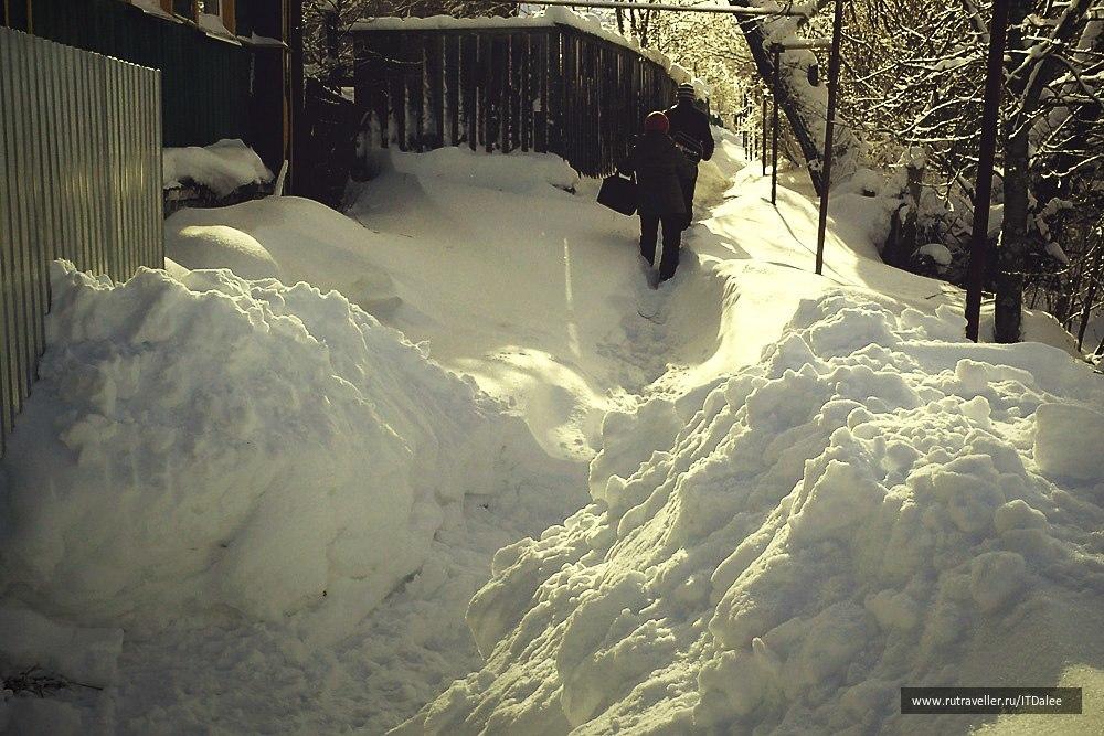Зима в Александрове