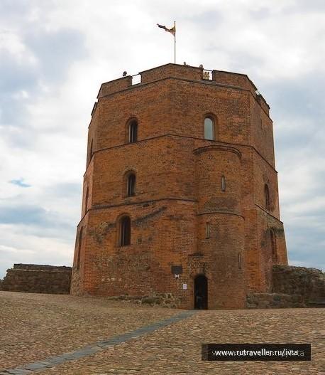 Башня Гедиминаса в Верхнем замке