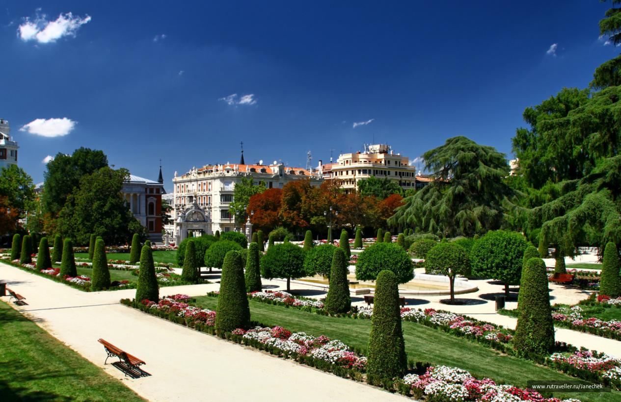 Мадрид. Парк Ретиро.