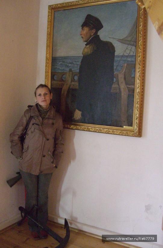 портрет П.С. Нахимова