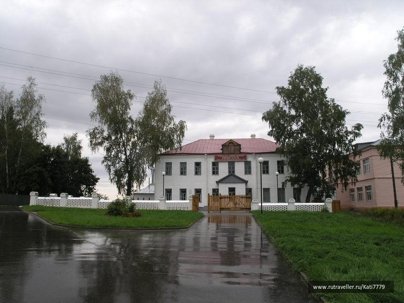 школа-музей С.А.Есенина в Спас-Клепиках (Рязанская обл.)