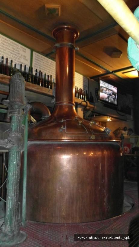 чаны, в которых и варят пиво
