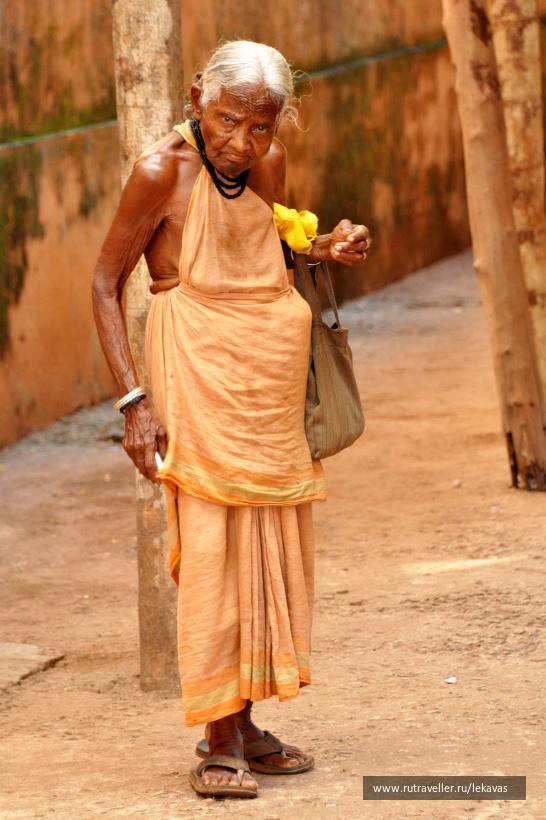 Прихожанка. Индия