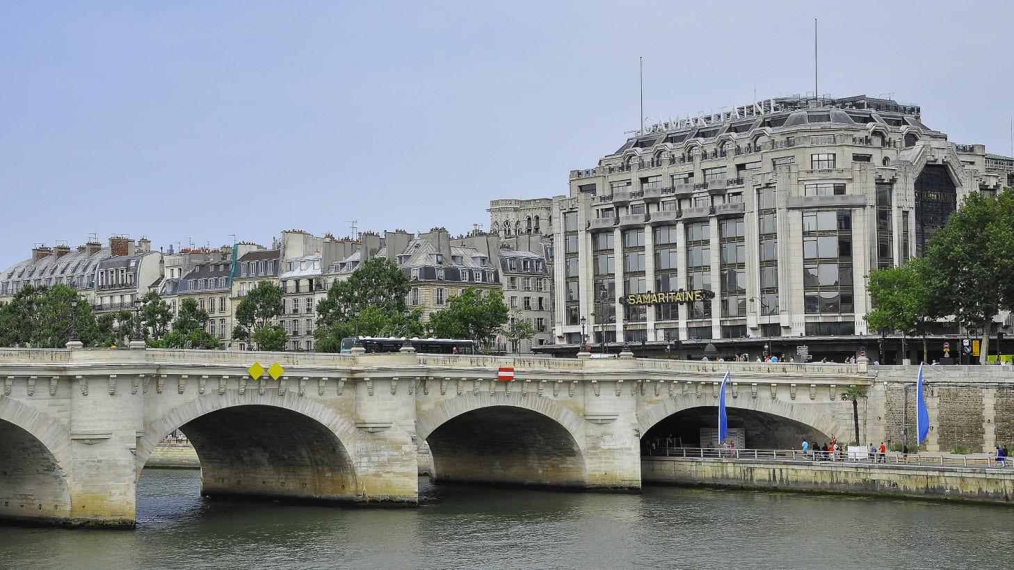 Новый мост (Le pont Neuf) - самый старый мост Парижа.