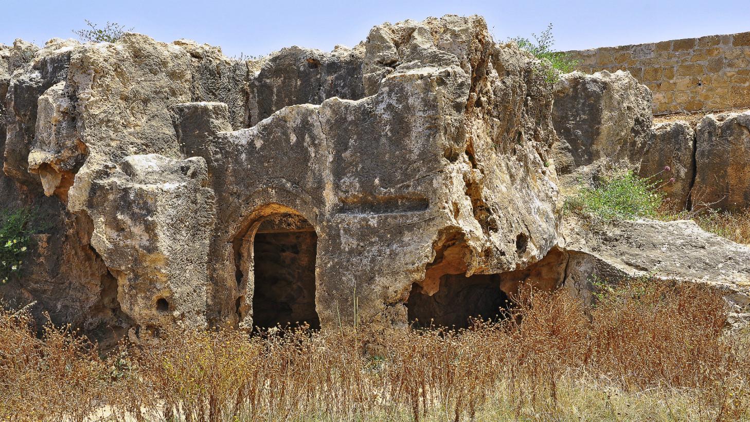 Гробницы царей. Пафос. Кипр.