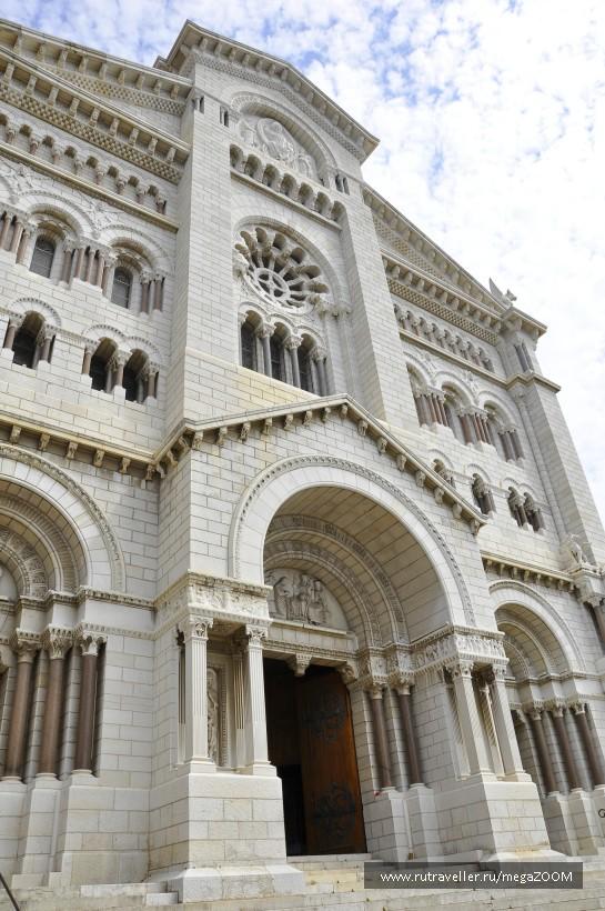 Кафедральный собор святого Николая.  Монако. Монте-Карло.