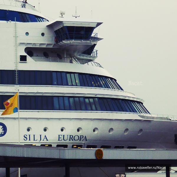 silja line ( finland - > stockholm)