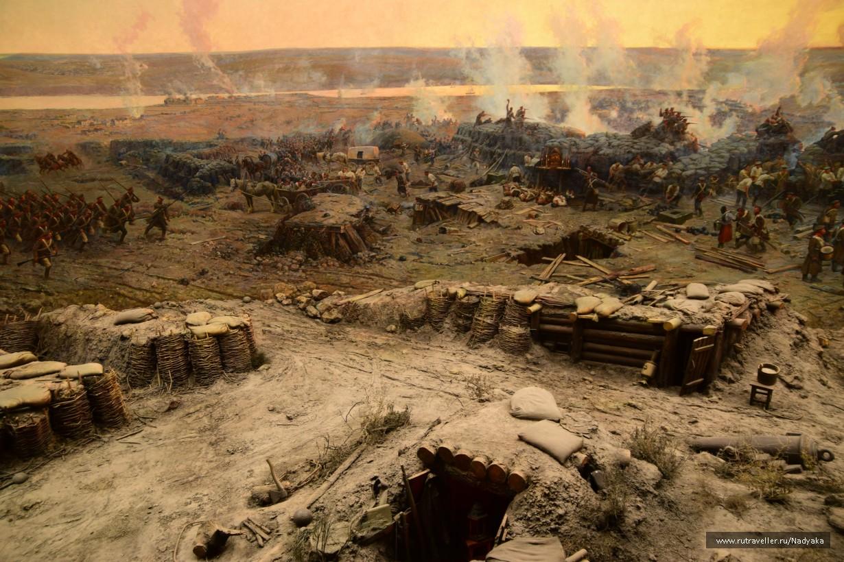 Панорама обороны Севастополя. День 3-й.