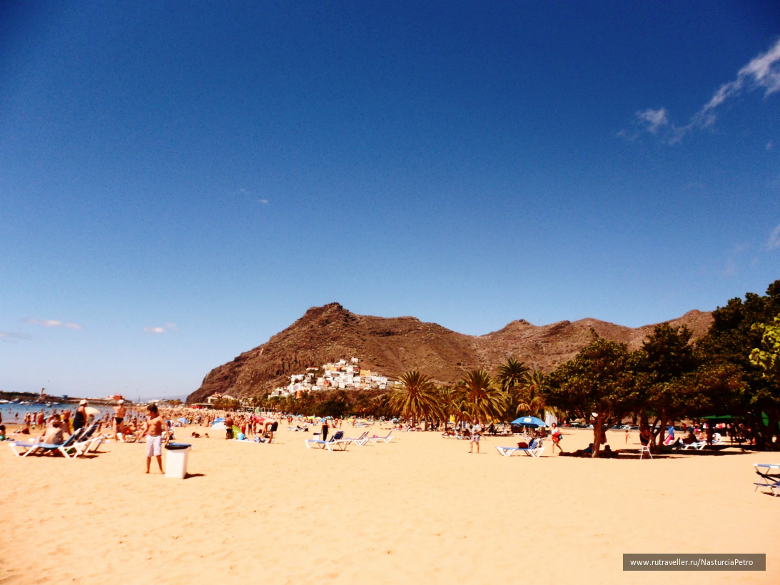 Золотой пляж Лас Тереситас