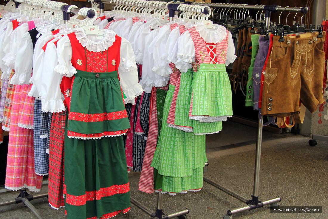 Линзергассе_магазин национальных костюмов
