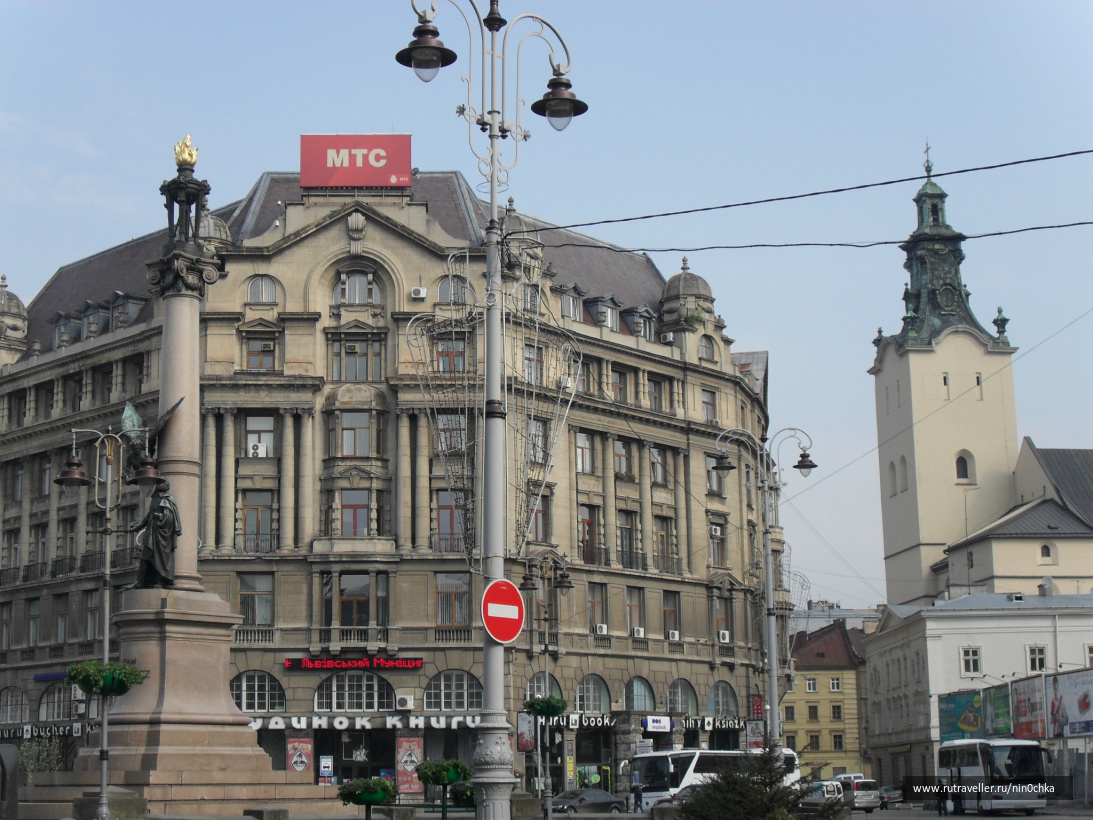 Площадь Адама Мицкевича