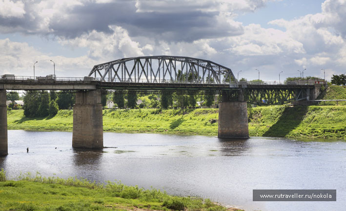 Полоцк. Западная Двина