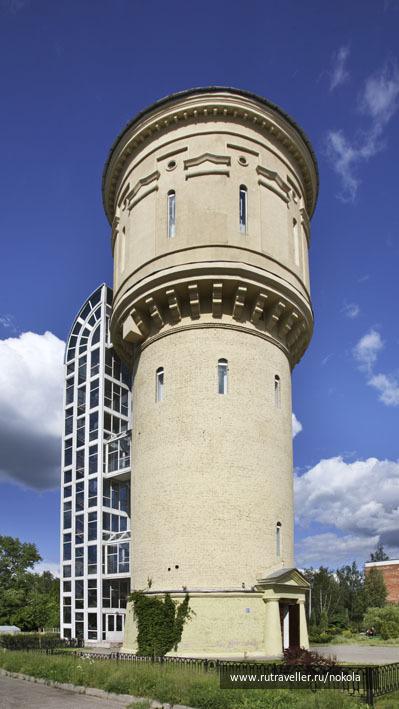 Полоцк. Бывшая водонапорная башня