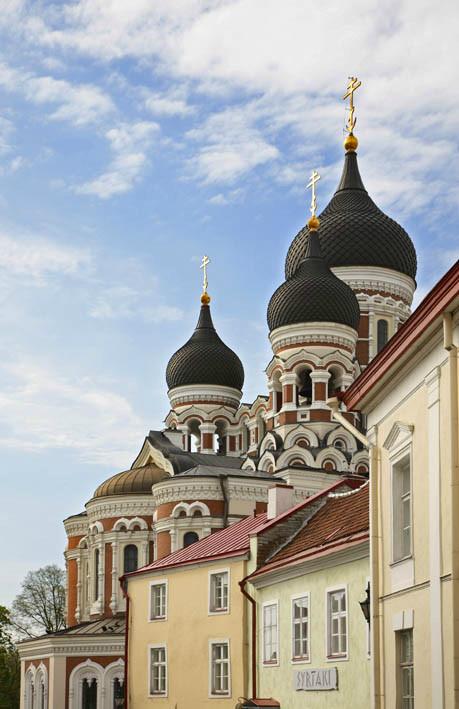 Таллинн. Собор Александра Невского