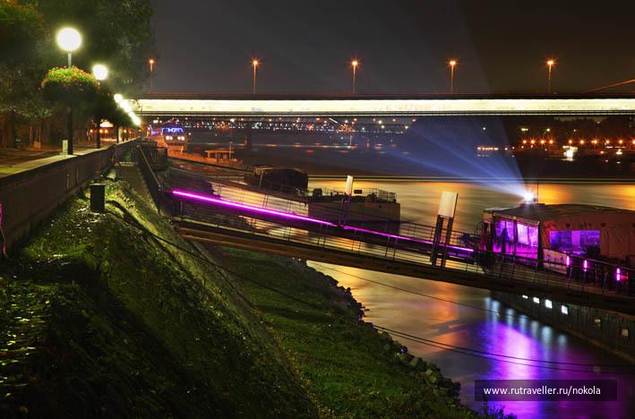 Набережная реки Дунай