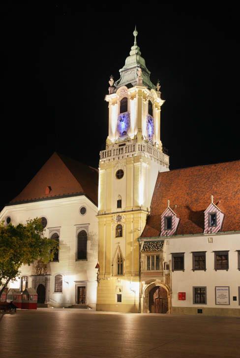 Братислава. Главная площадь. Старая ратуша