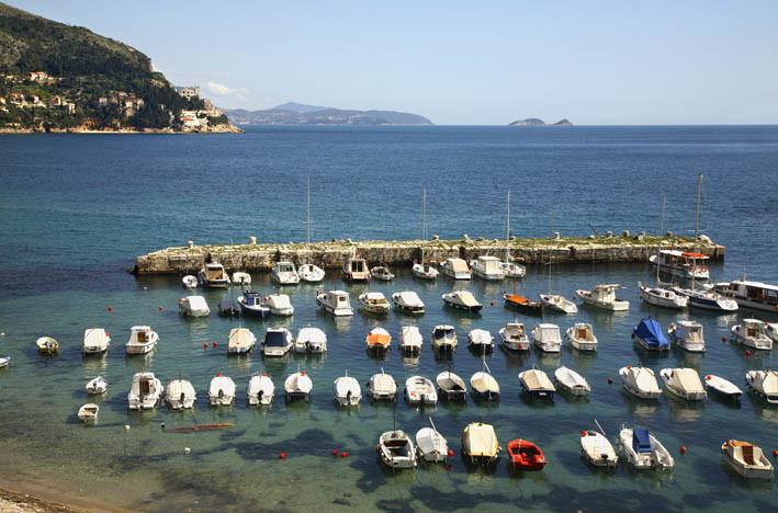 Городская гавань Дубровника