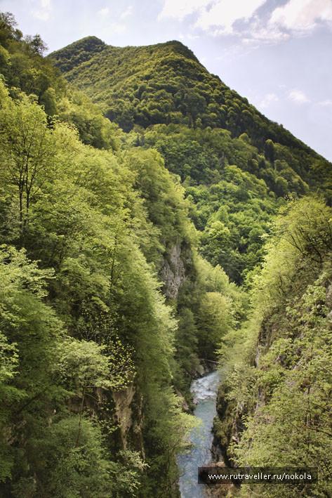 Толминское ущелье. Река Толминка