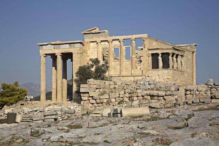 Афины. Акрополь. Эрехтейон. Греция