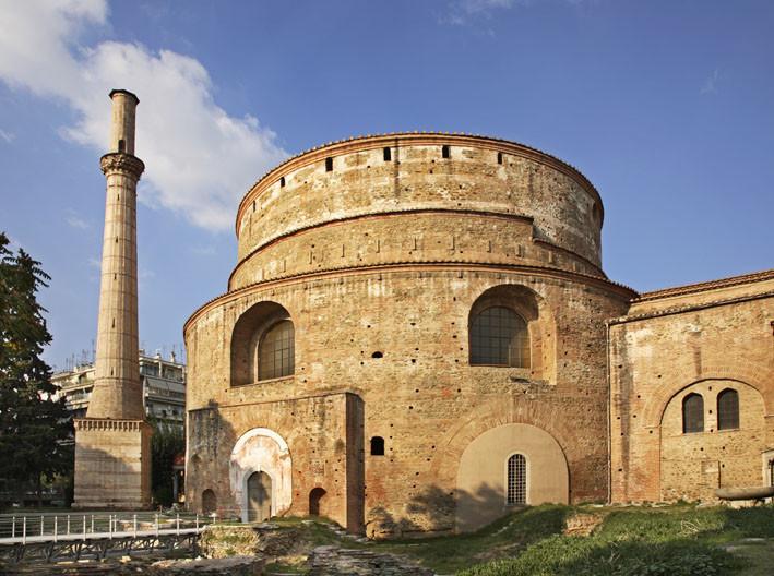 Салоники (Фессалоники). Церковь Св. Георгия (Ротонда). Греция