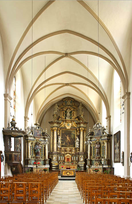Люксембург. Аббатство Ноймюнстер. Церковь Св. Иоанна