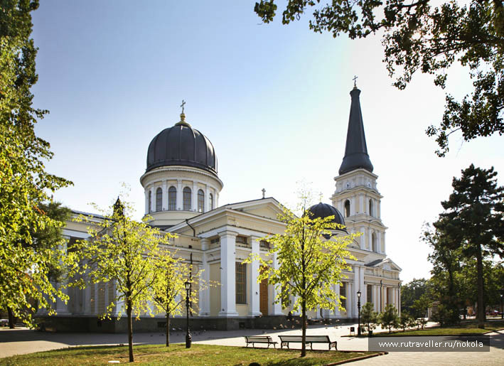 Одесса. Спасо-Преображенский собор. Украина