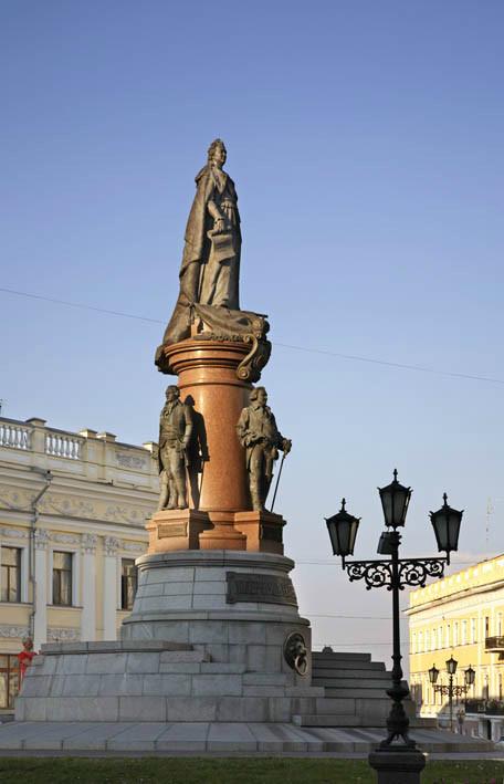 Одесса. Памятник Екатерине II. Украина