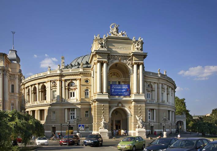 Одесса. Оперный театр. Украина