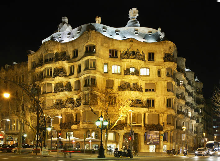 Барселона. Дом Мила. Испания