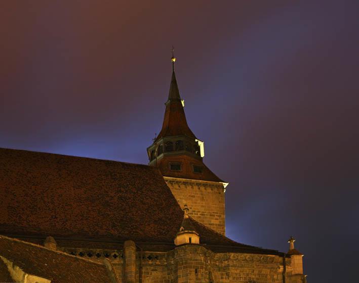 Брашов. Черная церковь. Румыния