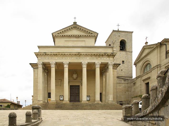Сан-Марино. Базилика Санто-Пьеве