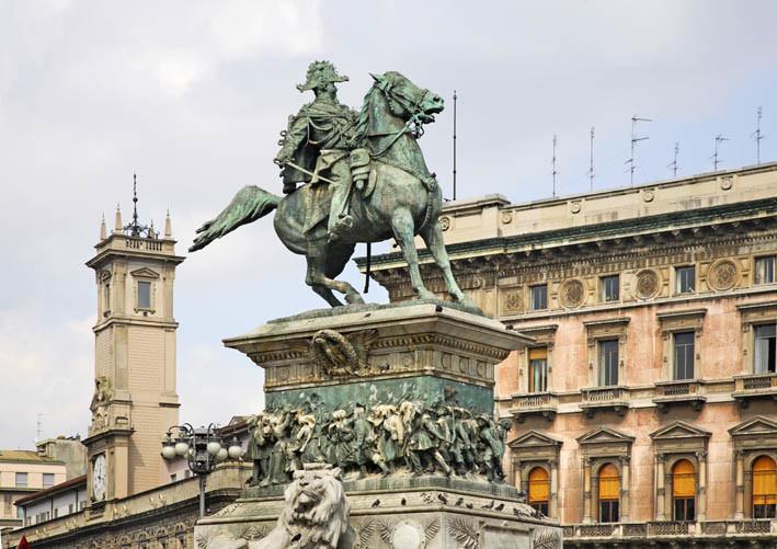 Памятник Витторио Эммануэле II. Италия