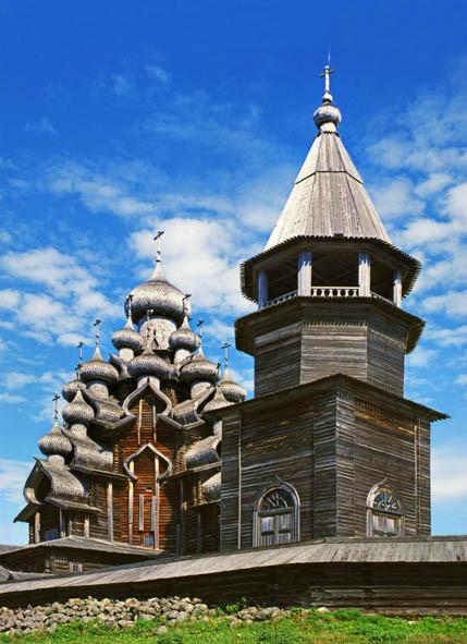Кижи. Кижский погост. Церковь Преображения господня. Карелия