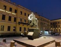 Памятник Доменико Трезини  в Санкт-Петербурге