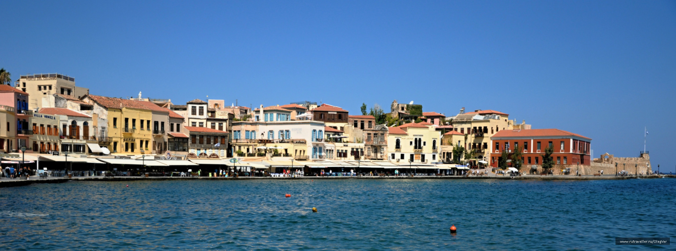 Венецианкая гавань Ханьи