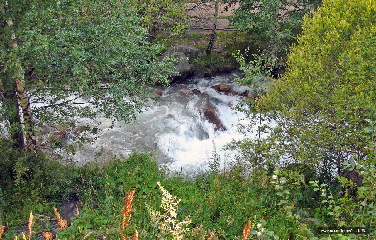 Река Малая Алматинка