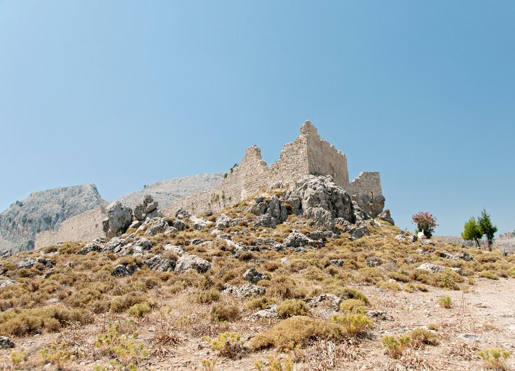 Archangelos - Руины замка Св. Иоанна (1320 г.)