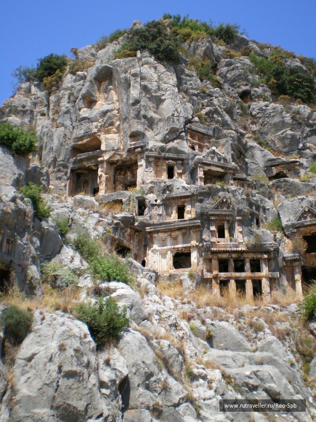 Мира, ликийские гробницы