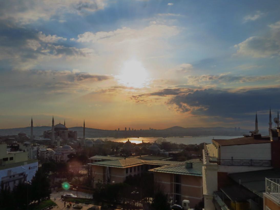 Рассвет над Босфором