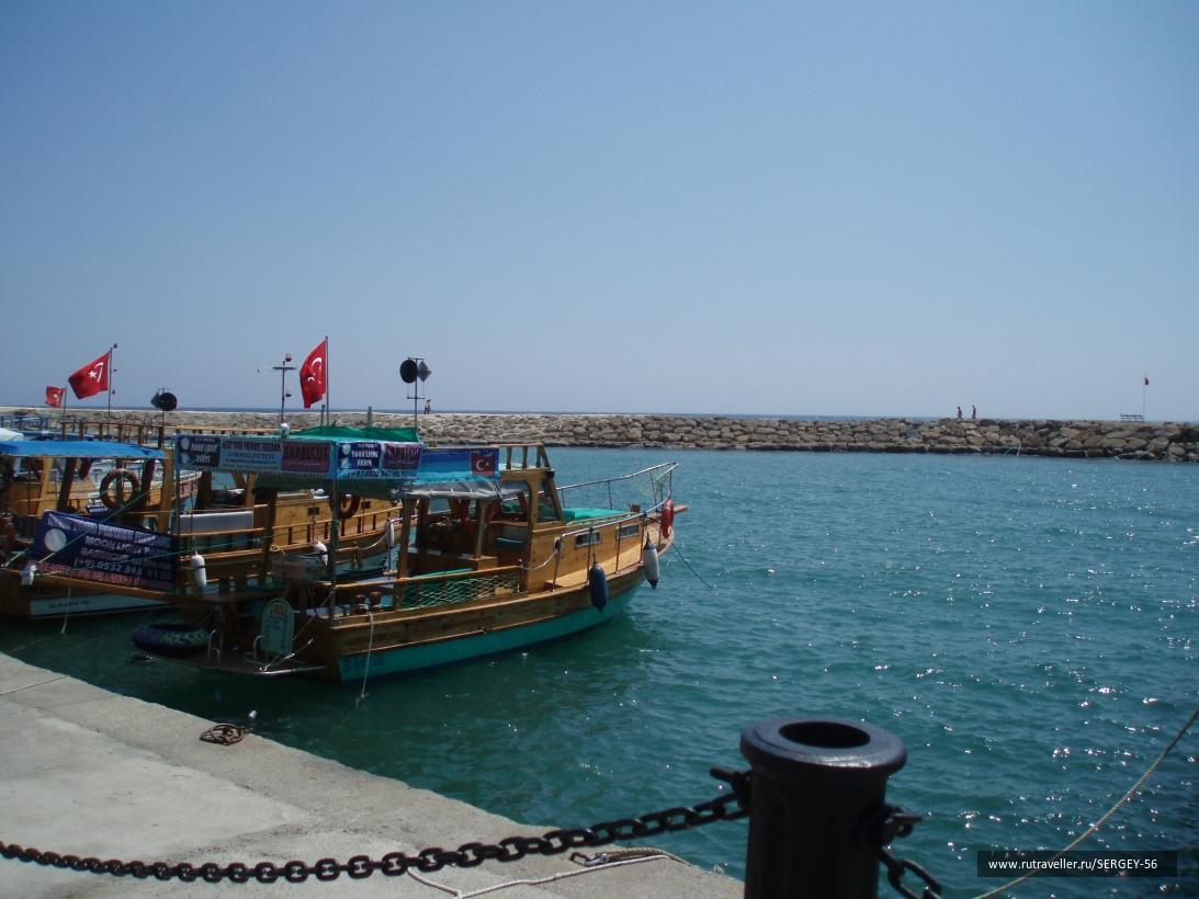 Порт в Сиде