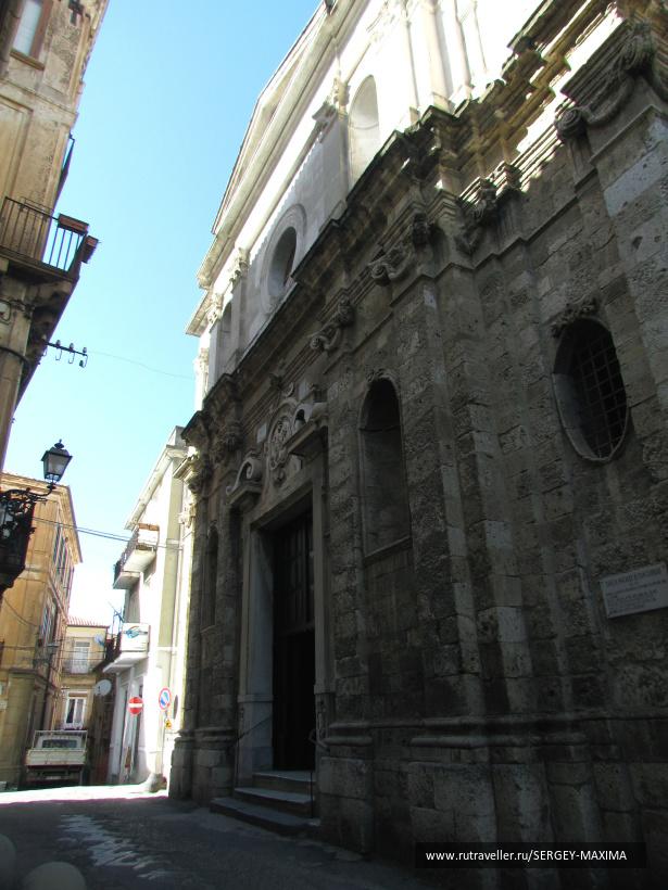 ИТАЛИЯ. КАЛАБРИЯ. ПИЦЦО. Церковь Сан – Джорджио (Святого Георгия)