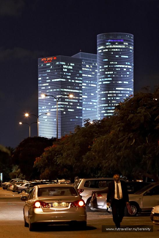 Тель-Авив - башни Азриэли