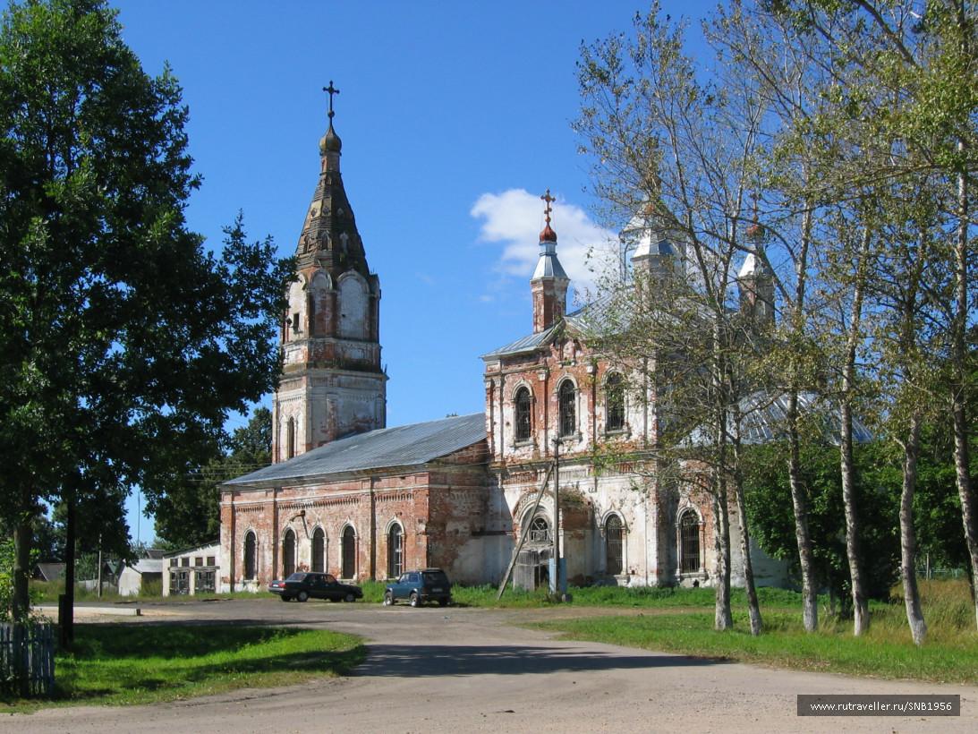 Храм в селе Раменье
