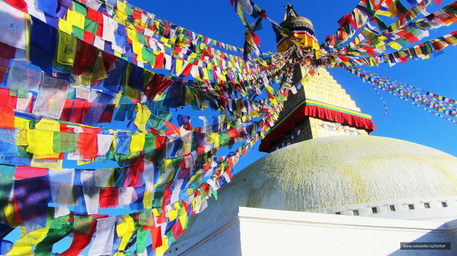 Ступа Боднатх. Катманду