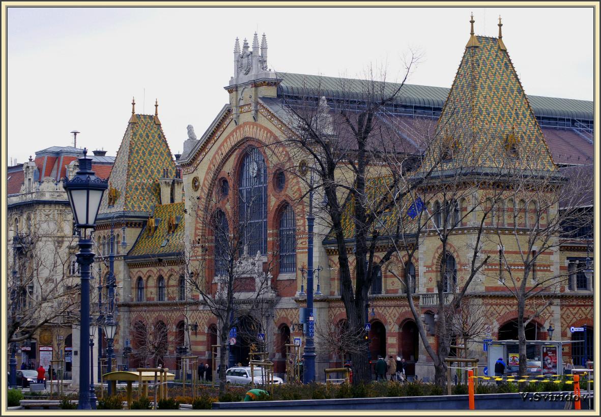Будапешт. Столичный рынок.