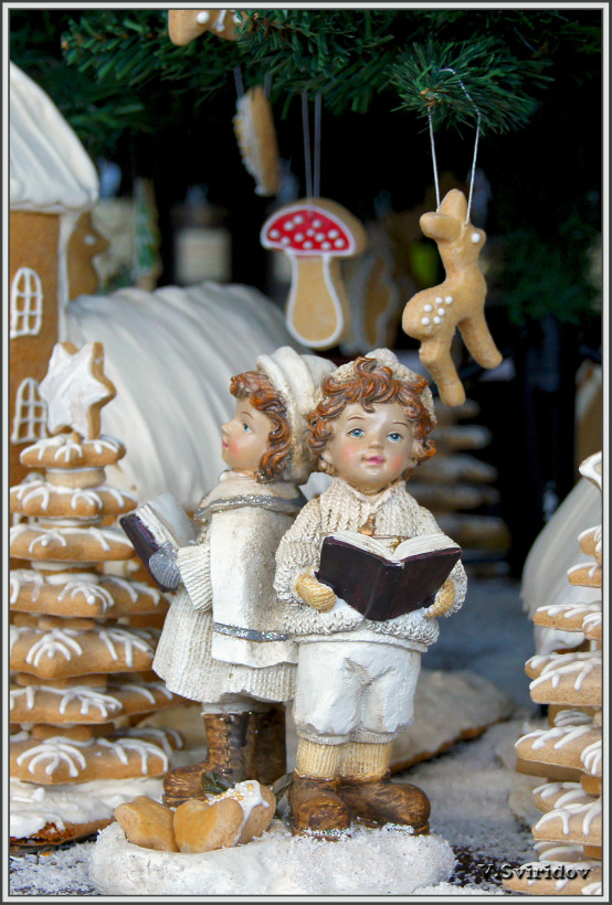 Кестхей. Рождество в винном бутике.