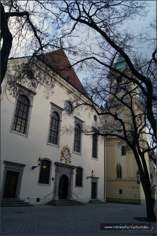 Словакия. Братислава. Старый город.