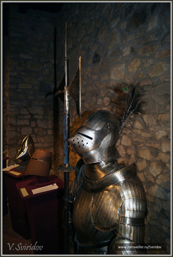 Венгрия. Шюмег. Музей крепости.